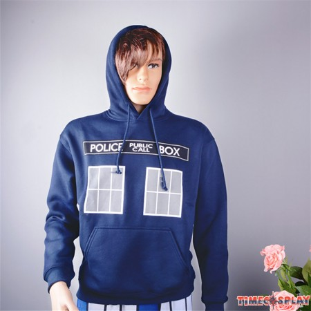 Timecosplay Doctor Who Men Pullover Hoodie