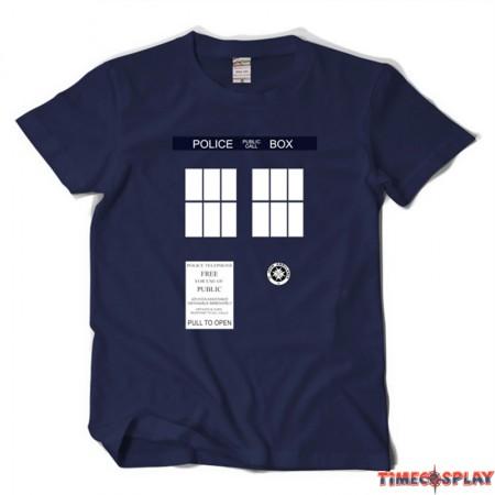 Timecosplay Doctor Who Tardis Icon Tee Shirt