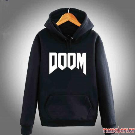 TimeCosplay Doom4 Logo Hoodies Sweatshirts