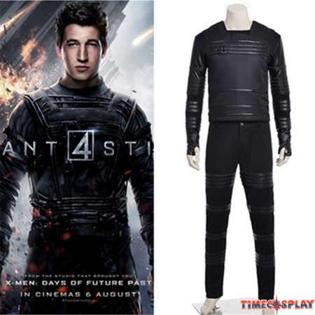 Timecosplay Fantastic Four 2015 Human Mister Fantastic Reed Richards Cosplay Costume