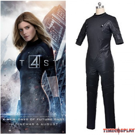 Timecosplay Fantastic Four 2015 Invisible Girl Cosplay Costume