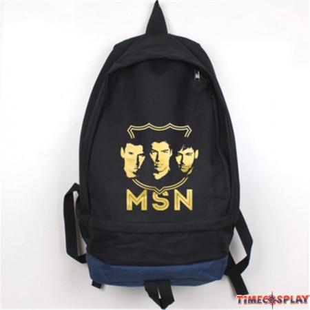 Timecosplay FC Barcelona Messi Logo School bag Backpack