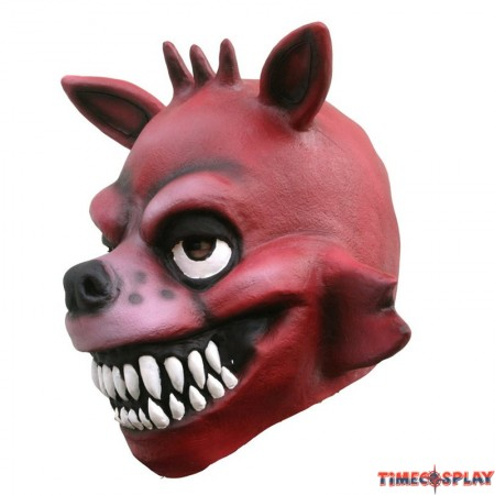 TimeCosplay Five Nights at Freddy's Fox Foxy Cosplay Latex Mask Halloween