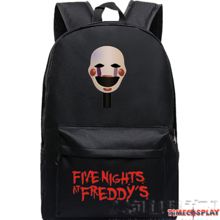 Timecosplay Five Nights at Freddys 4 Logo Schoolbag Backpack