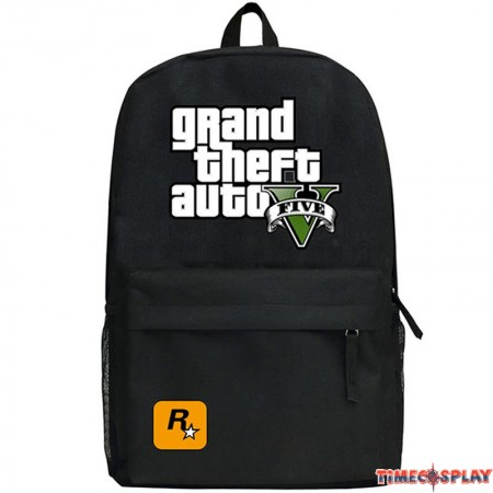 Timecosplay Grand Theft Auto 5 Backpack Schoolbag Bag