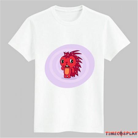 Timecosplay Happy Tree Friends Flaky Tee Shirts