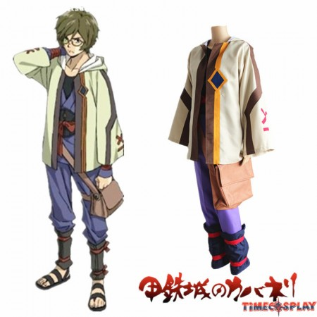 Timecosplay Kabaneri of the Iron Fortress Ikoma Cosplay Halloween Costume