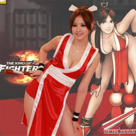 Timecosplay KOF THE KING OF FIGHTERS Cosplay Mai Shiranui Costume