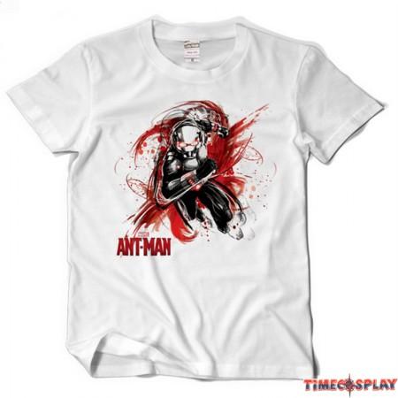 Timecosplay Marvel Superhero Ant Man Tee Shirt