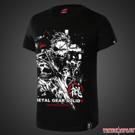 Timecosplay Metal Gear Solid5 MGS5 Tee Shirts