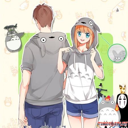 TimeCosplay Miyazaki Hayao Tonari no Totoro Cosplay Pullover Hoodie T-shirt