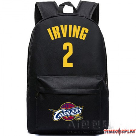 Timecosplay NBA Cleveland Cavaliers IRVING Kyrie Irving 2 Backpack School Bag