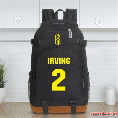 Timecosplay NBA Cleveland Cavaliers Kyrie Irving Backpack School Bag