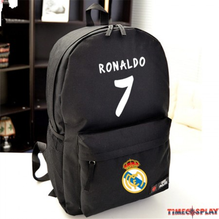 Timecosplay Real Madrid Cristiano Ronaldo 7 School bag Backpack