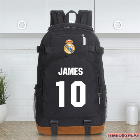 Real Madrid James Rodriguez 10 Schoolbag Backpack