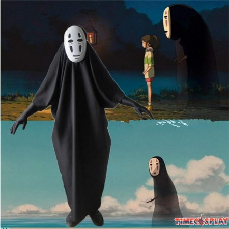 Timecosplay Spirited Away Cosplay No Face Halloween Costumes