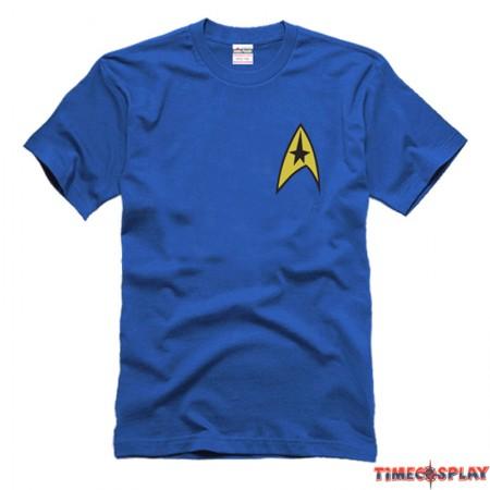 Timecosplay Star Trek Spock Better World Command Logo Tee Shirts