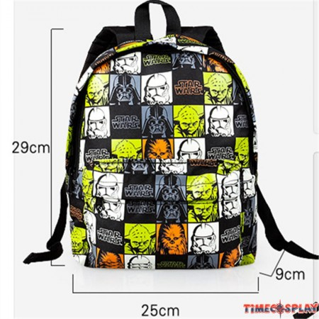 Timecosplay Star Wars Icon Cosplay School bag Backpack