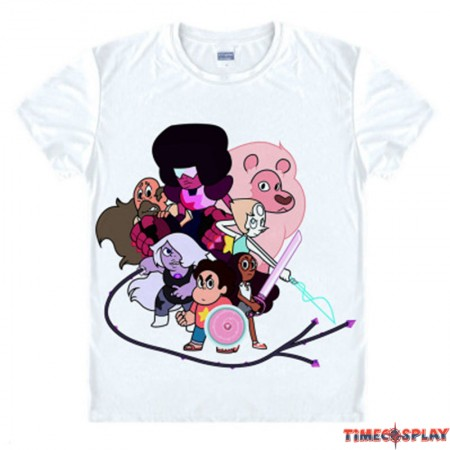 Timecosplay Steven Universe Steven Family T-Shirts