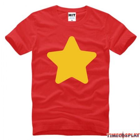 Timecosplay Steven Universe Steven Quartz Universe Short Sleeve T-Shirts