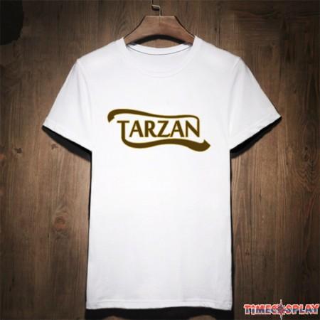Timecosplay The Legend Of Tarzan Logo Cool Tee Shirts
