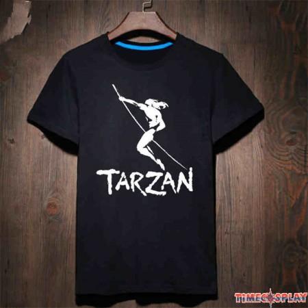 Timecosplay The Legend Of Tarzan Logo Tee Shirts