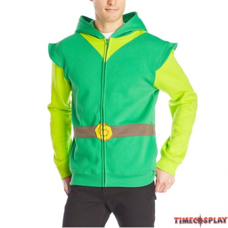 TimeCosplay The Legend Of Zelda Men Pullover Cosplay Hoodie