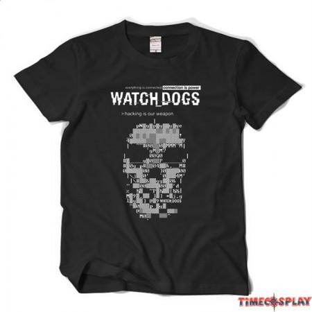 TimeCosplay Watch Dogs Tee Shirt T-Shirt