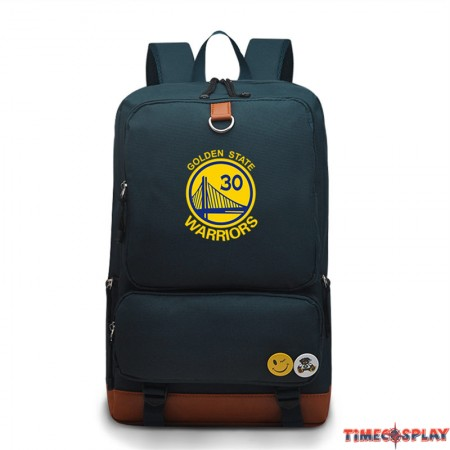 Timecosplay NBA Warriors Stephen Curry 30 Backpack Bag Schoolbag