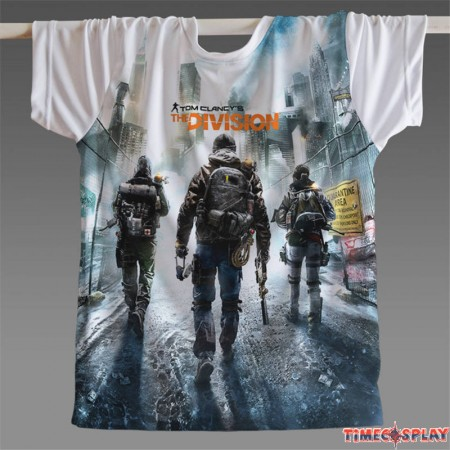 Tom Clancy's The Division 3D T-Shirts Tee Shirt