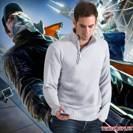 Watch Dogs Aiden Ride Sweater Cosplay Costumes