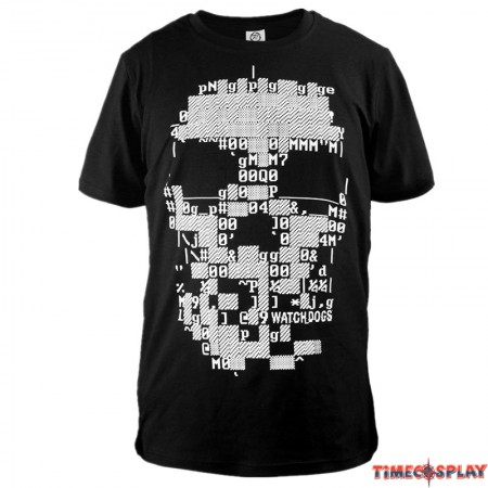 Watch Dogs Logo Men3 D Print Harajuku Tee Shirt