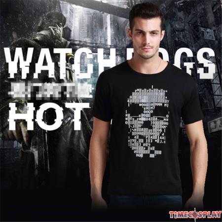 Watch Dogs Logo Men Tee Shirt