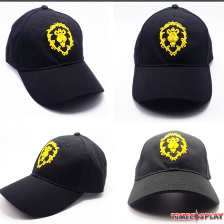 World of Warcraft Cosplay The Alliance Logo Cool Hat Baseball Cap