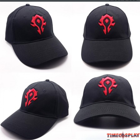 World of Warcraft Cosplay The Horde Logo Cool Hat Baseball Cap