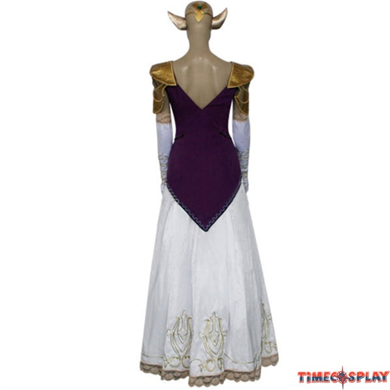 the legend of zelda princess zelda cosplay wedding dress