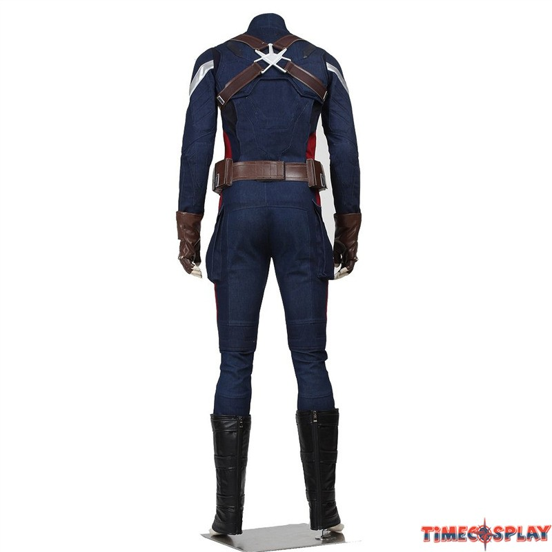 Captain America Winter Soldier Costume Kids