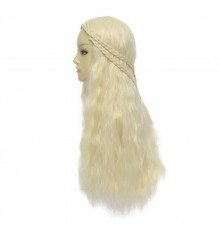 Game of Thrones Daenerys Targaryen Long Curly Cosplay Wig