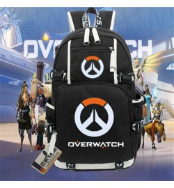 Overwatch Logo Backpack Schoolbag Bookbag