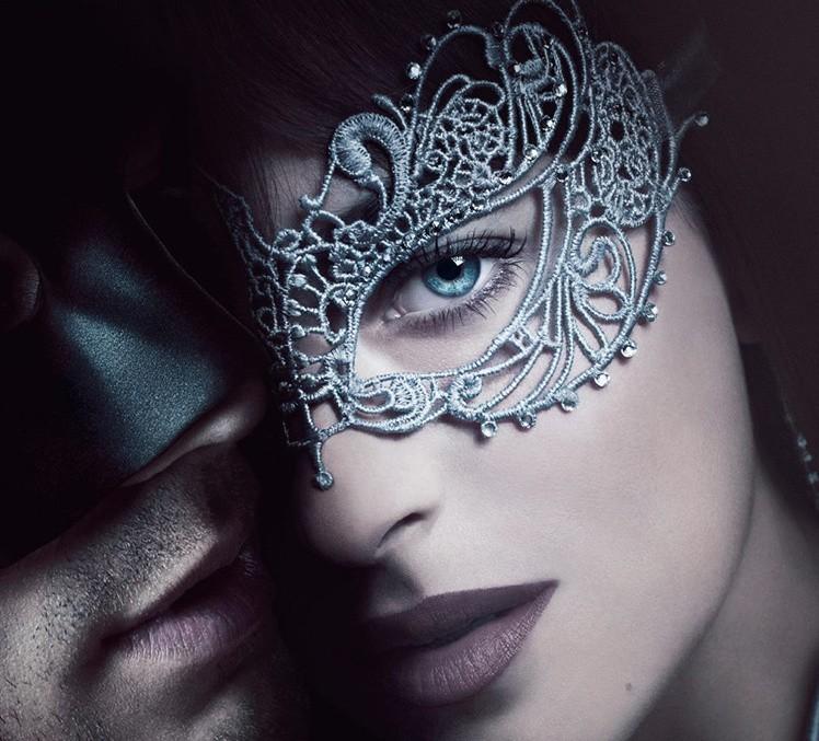 2017 Movie Fifty Shades Darker Mask Cosplay