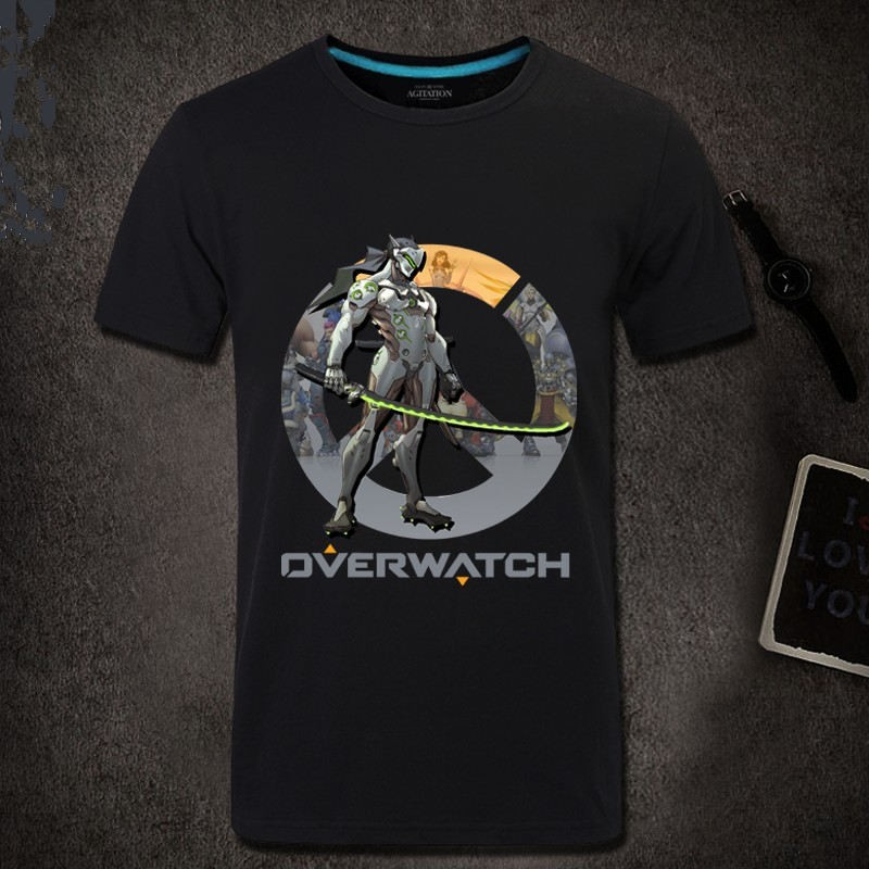 Overwatch Genji Men Short Sleeve T-shirt