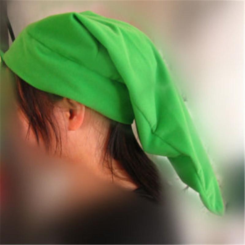 Timecosplay Legend of Zelda Link Green Hat Cap Cosplay
