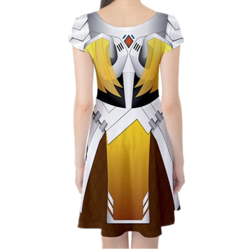 Timecosplay OW overwatch Mercy Dress Cosplay