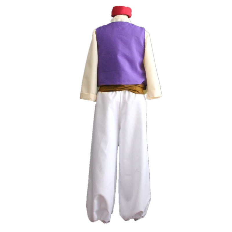 Animation Aladdin Prince Cosplay Halloween Party Costume