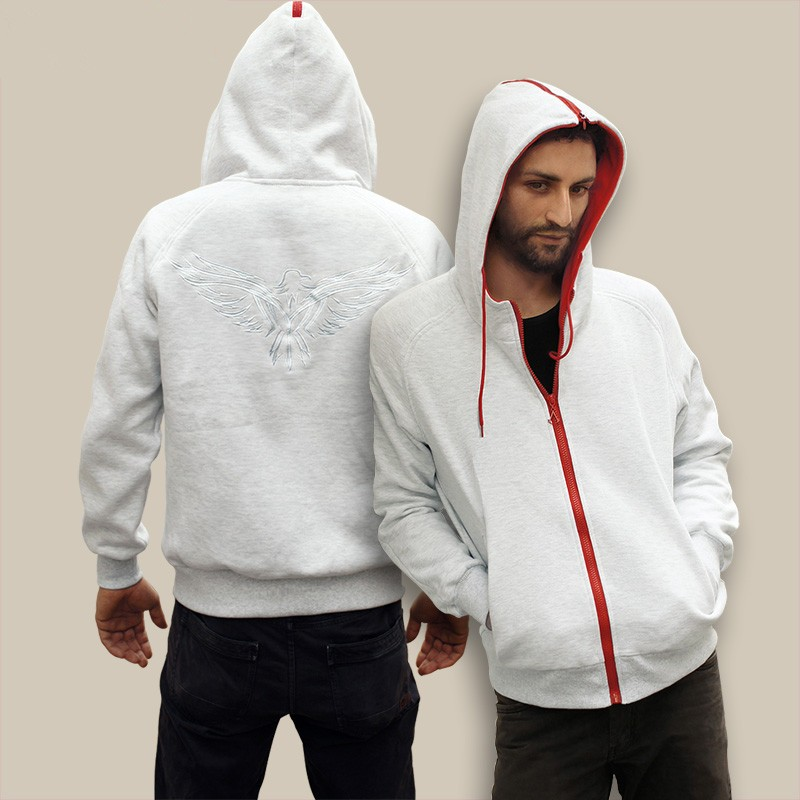 Assassin's Creed III Desmond Logo Zip Hoodies