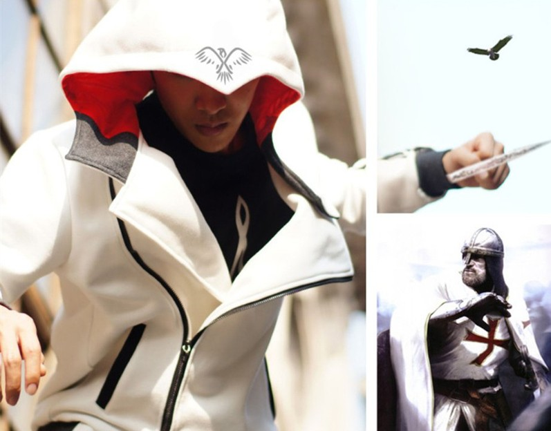 Assassin's Creed Zipper Hoodies Nothing is True Everying is Permitted