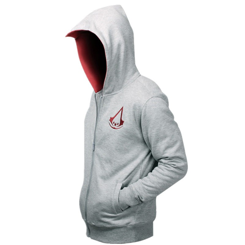 Assassin's Creed 3 Style Connor Kenway Zipper Hoodies