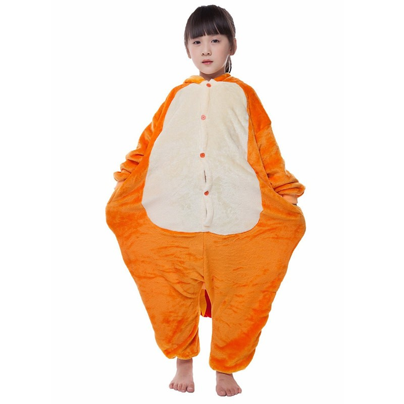 Childrens Halloween Charmander Onesie Kigurumi Onesie Animal Pajama Cosplay For Kids