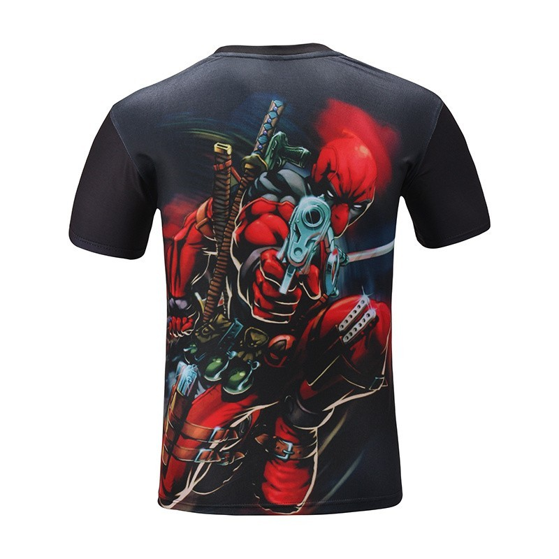 Deadpool Movie 3D Print Cool T-Shirt