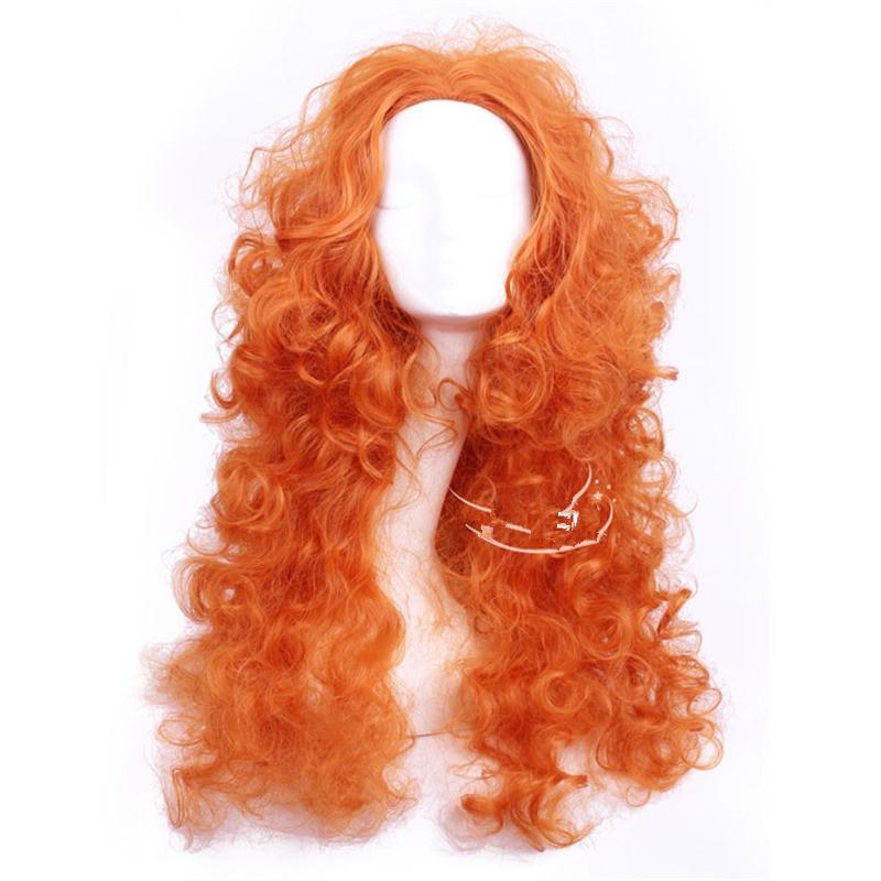 Disney Brave Princess Mei lida Cosplay Wigs